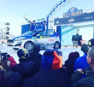 Daniel Nicklas Rally Sweden